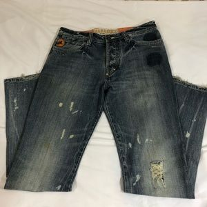 Parasuco Jeans - Men's 32x34 Parasuco Distressed Straight Jeans